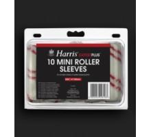 """4816 Комплект мини-валиков для бугельных ручек полиакрил (10шт) 4"""" 100мм HARRIS EXPERT PLUS"""